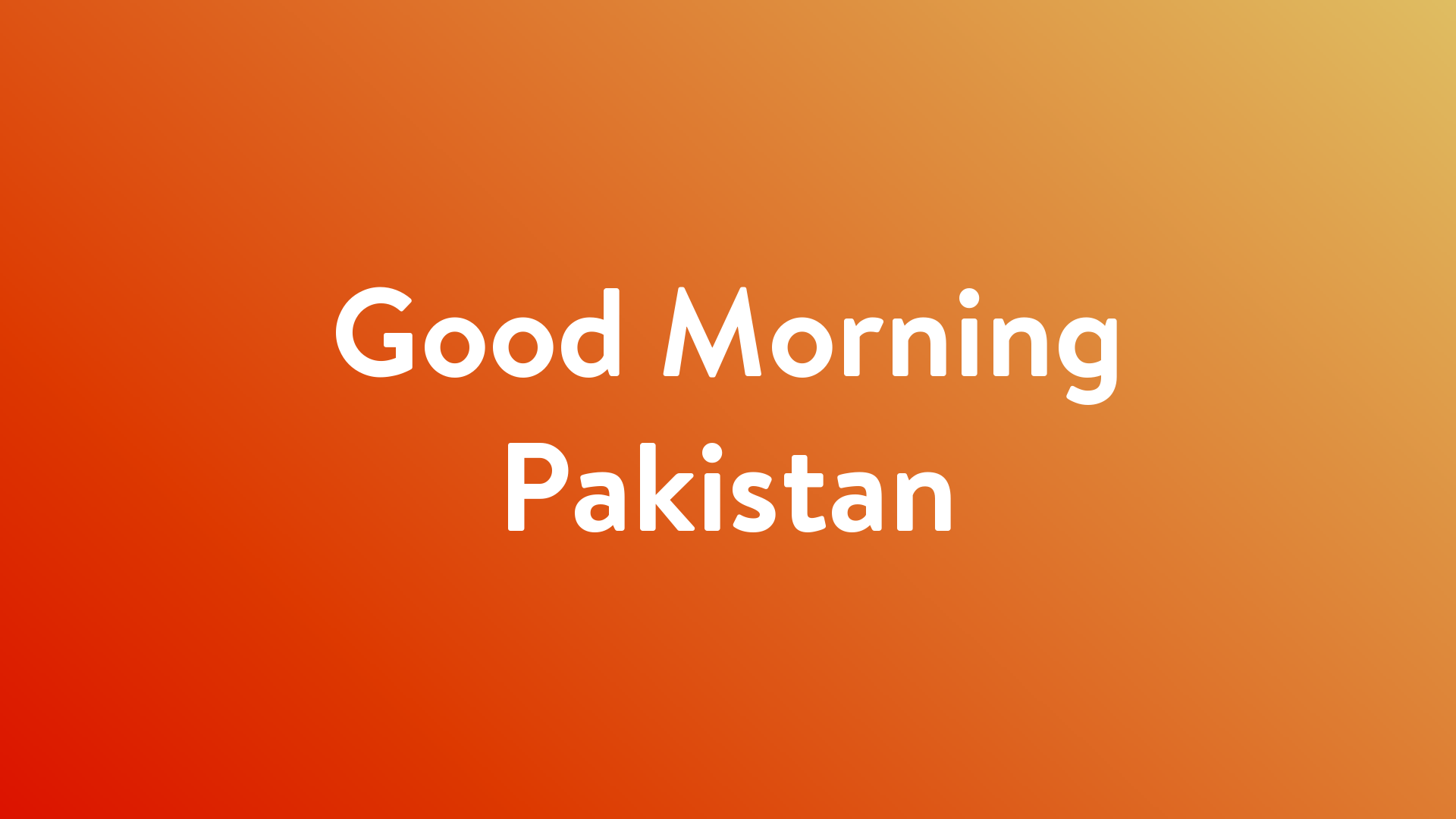 Stream And Watch Good Morning Pakistan Online | Sling TV