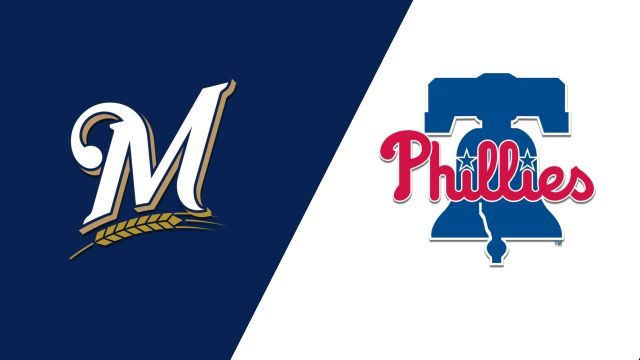 Milwaukee Brewers vs. Philadelphia Phillies
